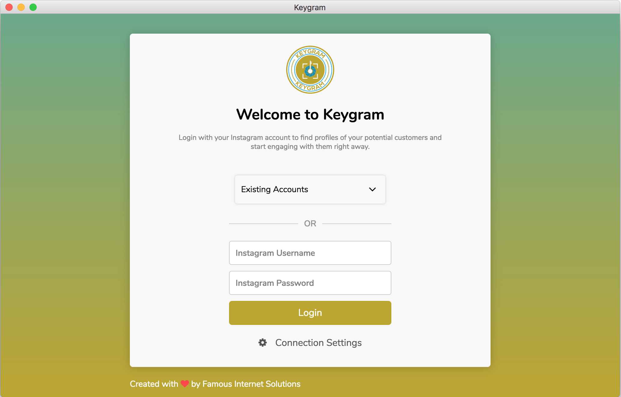 Keygram Instagram Login