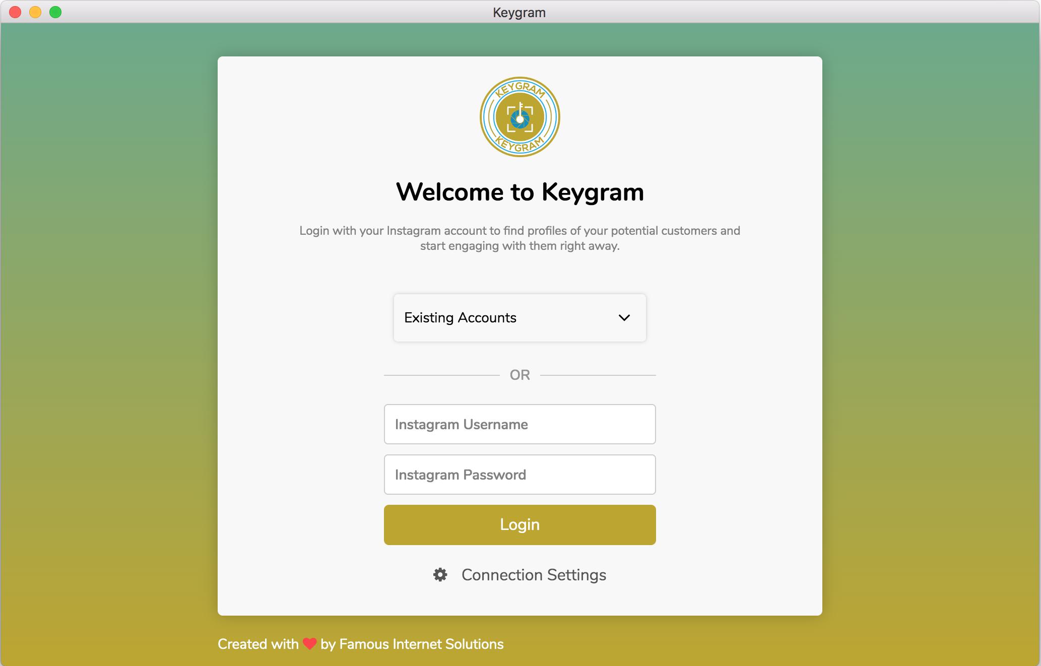 Keygram Instagram Login